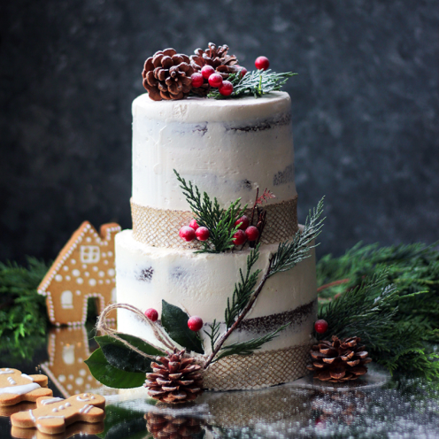 WHITE WINTER CAKE (1 KATLI)